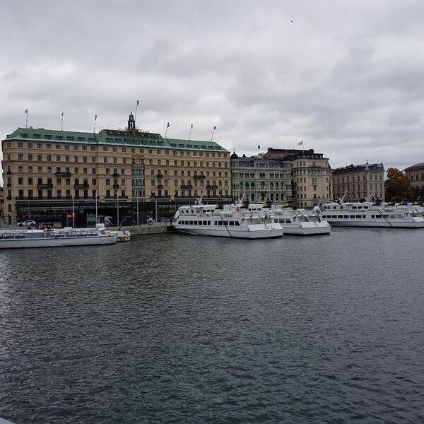 Gamla stan, stari deo Stokholma, u oktobru - Sputnik Srbija