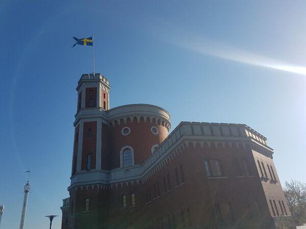 Tvrđava na ostrvu Skepšolmen u Stokholmu - Sputnik Srbija