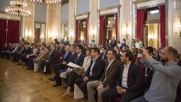 Млади лидери Србије и Русије на конференцији у Београду - Sputnik Србија