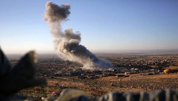 Bombardovanje američke koalicije Sirije - Sputnik Srbija