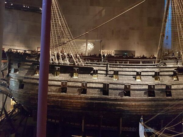 U muzeju Vaza se nalazi najstariji brod na svetu. On je izgrađen u 17. veku. - Sputnik Srbija