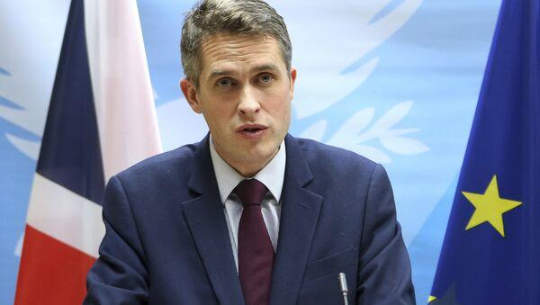 Ministar odbrane Velike Britanije Gavin Vilijamson - Sputnik Srbija