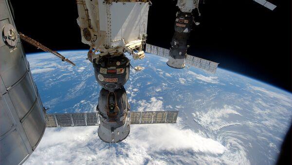 Pogled sa Međunarodne svemirske stanice - Sputnik Srbija