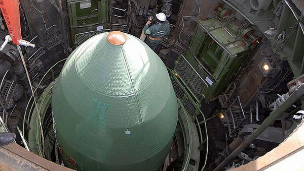 Бојева глава нуклеарне ракете - Sputnik Србија