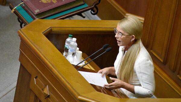 Julija Timošenko u Vrhovnoj radi u Kijevu, Ukrajina - Sputnik Srbija