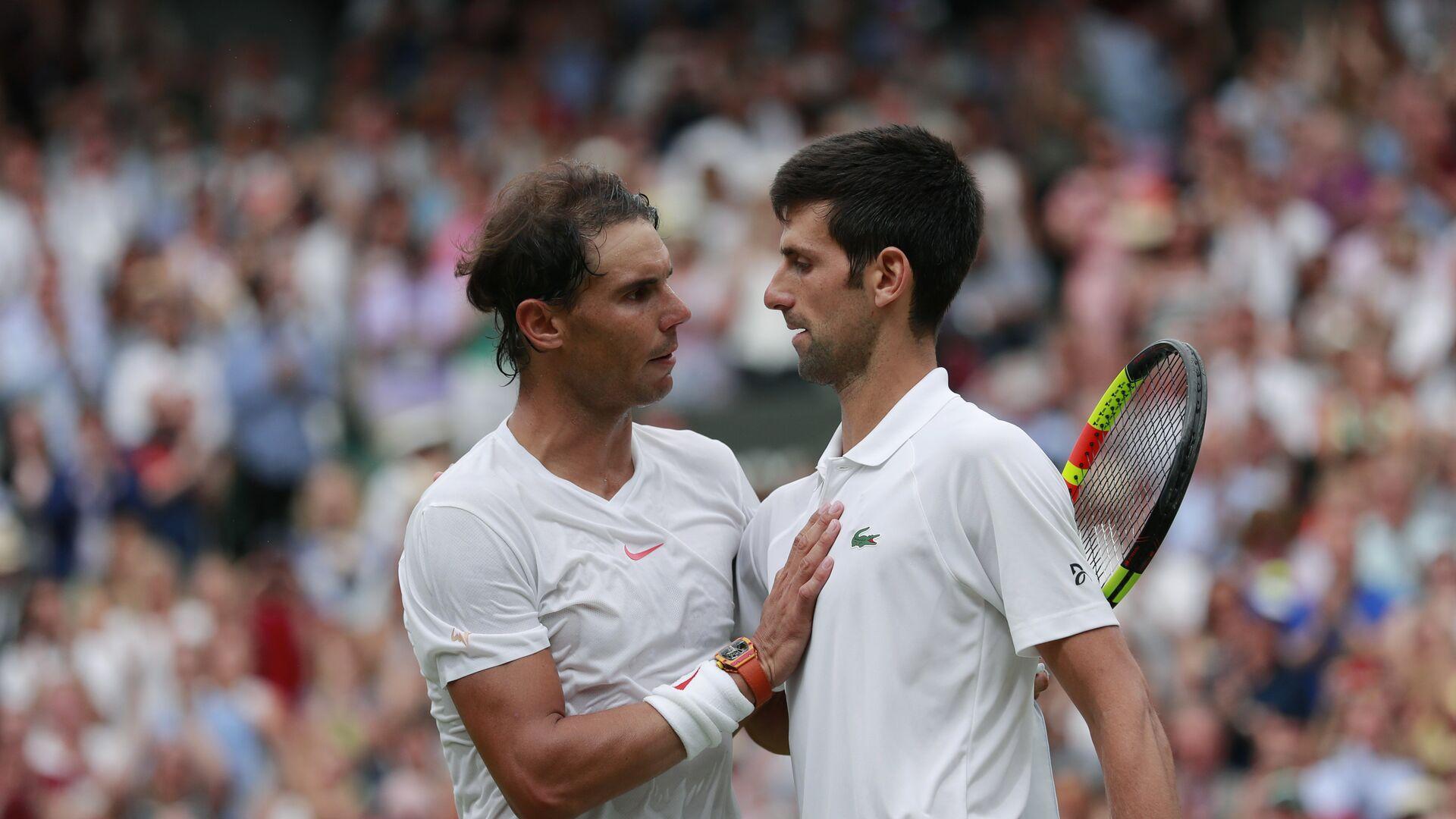Rafaerl Nadal i Novak Đoković - Sputnik Srbija, 1920, 11.06.2021