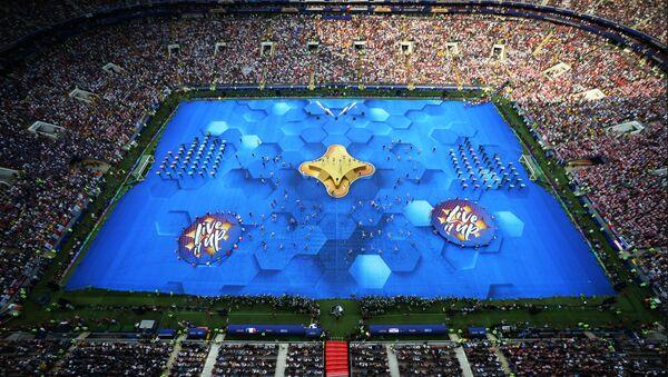 Свечана церемонија затварања Светског првенства у фудбалу 2018. на стадиону Лужњики у Москви - Sputnik Србија