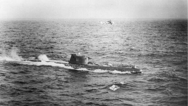 Sovjetska podmornica B59 nedaleko od obala Kube  - Sputnik Srbija