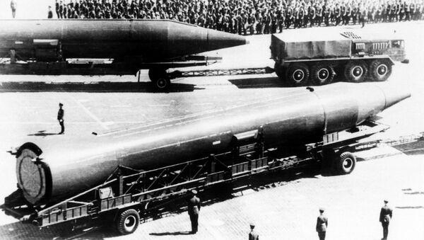 Совјетске балистичке ракете средњег домета Р-14 чусоваја - Sputnik Србија