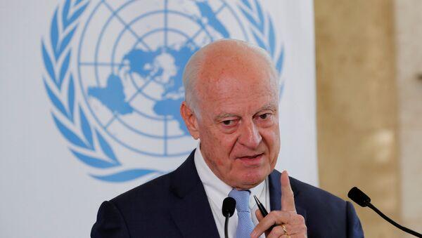 Специјални изасланик УН за Сирију Стафан де Мистура - Sputnik Србија