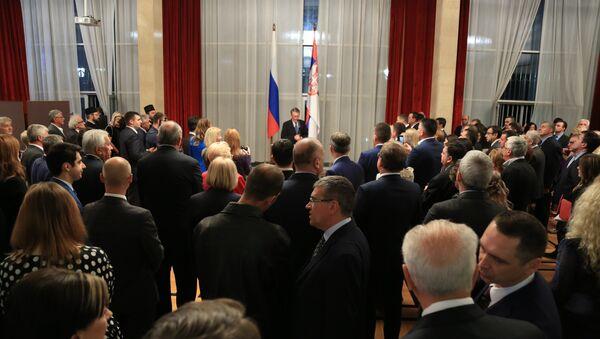 Svečani govor ambasadora Aleksandra Čepurina - Sputnik Srbija