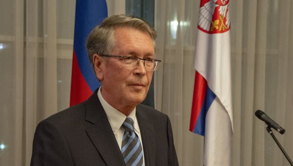 Ruski ambasador Aleksandar Čepurin - Sputnik Srbija