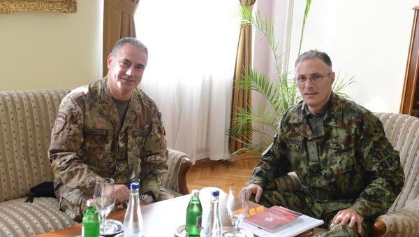Milan Mojsilović i Salvatore Kuoči - Sputnik Srbija