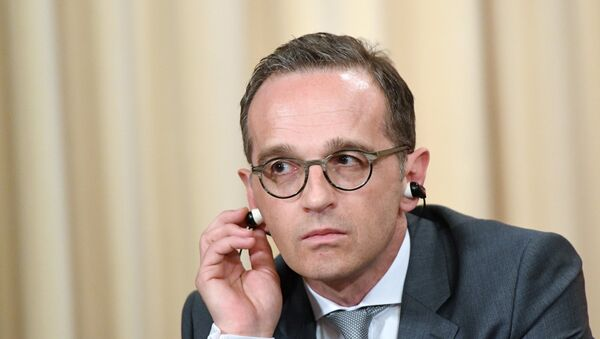 Ministar spoljnih poslova Nemačke Hajko Mas - Sputnik Srbija