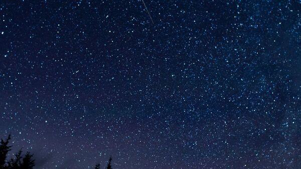 Meteor leti preko neba tokom godišnjeg prolaska meteorskog roja Perseidi u Zapadnoj Virdžiniji - Sputnik Srbija