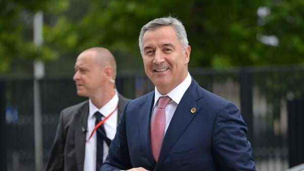 Predsednik Crne Gore Milo Đukanović  - Sputnik Srbija