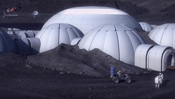 План руске лунарне базе - Sputnik Србија