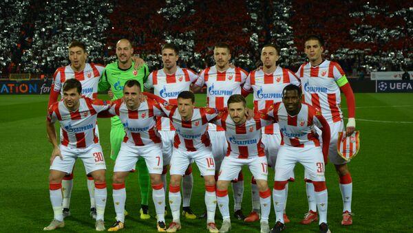 Црвено-бели позирали пред почетак меча - Sputnik Србија
