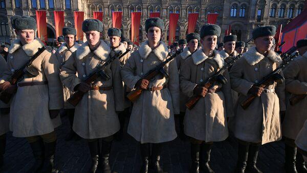 Проба војне параде посвећене 77. годишњици параде 1941. године - Sputnik Србија