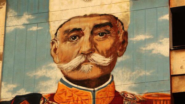 Mural posvećen kralju Petru Karađorđeviću u Novom Sadu - Sputnik Srbija