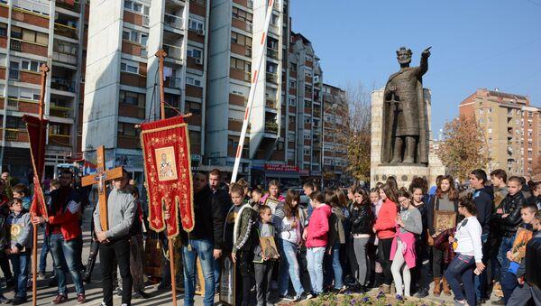 Obeležavanje gradske slave u Kosovskoj Mitrovici - Sputnik Srbija