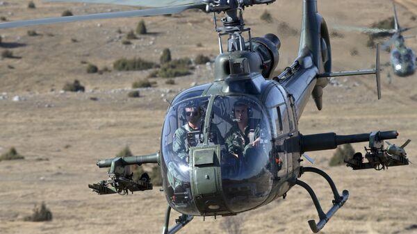 Српски хеликоптери у акцији - Sputnik Србија
