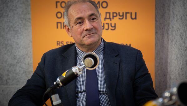Milo Lompar - Sputnik Srbija