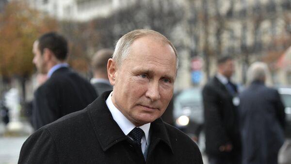Владимир Путин у Паризу - Sputnik Србија