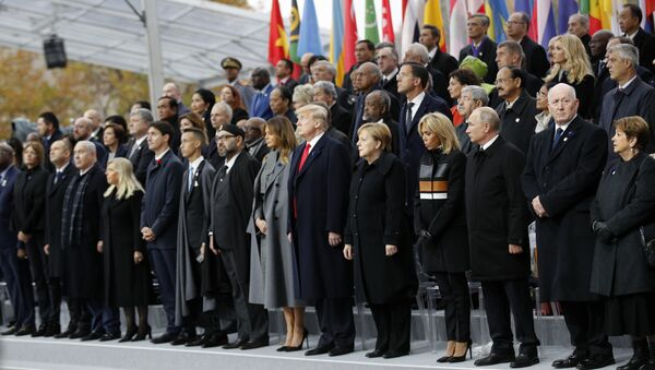 Светски лидери на свечаности у Паризу - Sputnik Србија