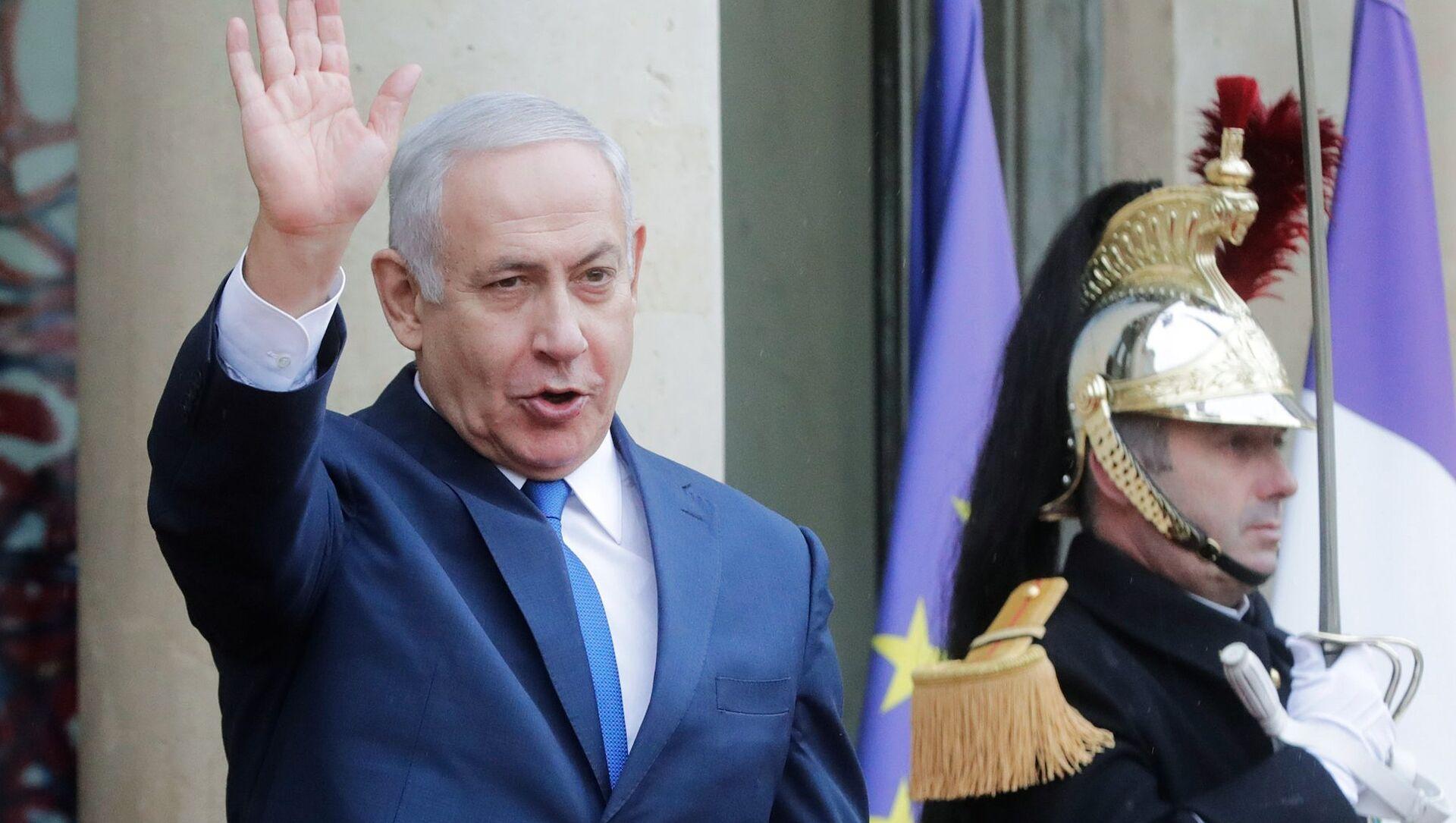 Премијер Израела Бењамин Нетанијаху у Паризу - Sputnik Србија, 1920, 13.06.2021