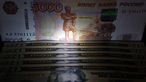 Ruska rublja i američki dolar - Sputnik Srbija
