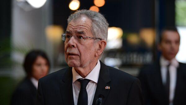 Председник Аустрије Александер Фан дер Белен - Sputnik Србија