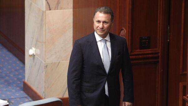 Nikola Gruevski - Sputnik Srbija