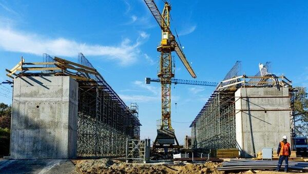 Izgradnja železničkog mosta - Sputnik Srbija