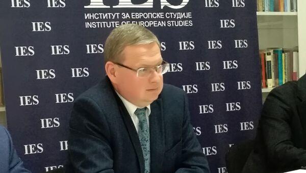 Михаил Дељагин - Sputnik Србија