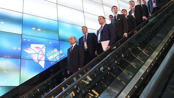 Владимир Путин у Сингапуру - Sputnik Србија