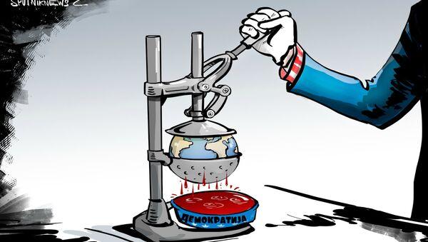 Žrtve američke demokratije - Sputnik Srbija