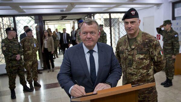 Салватор Куочи поред премијера Данске - Sputnik Србија