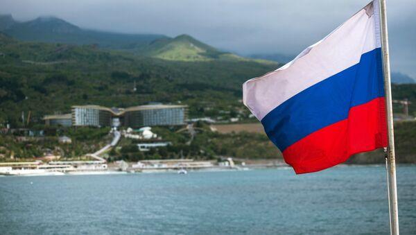 Руска застава на Криму - Sputnik Србија