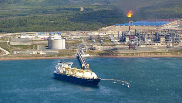 Танкер са руским гасом - Sputnik Србија