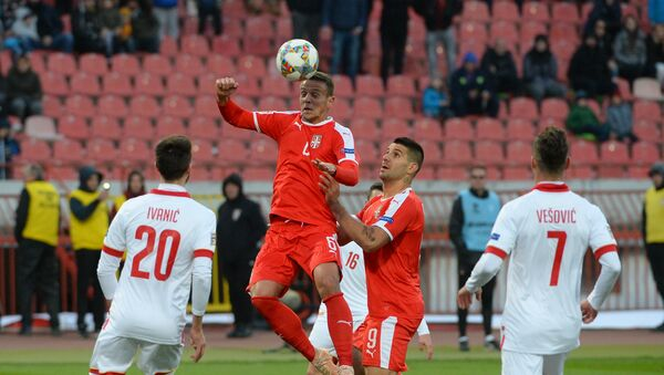 Лига нација: Србија - Црна Гора - Sputnik Србија