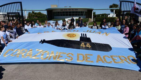 Породице чланова посаде потонуле аргентинске подморнице Сан Хуан - Sputnik Србија