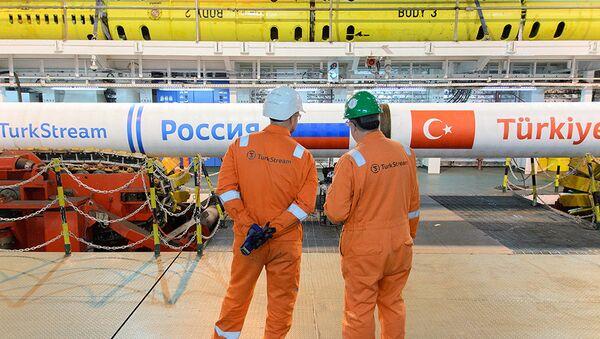 Представници пројекта Турски ток контролишу производни процес - Sputnik Србија