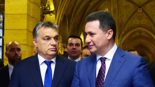 Виктор Орбан и Никола Груевски - Sputnik Србија