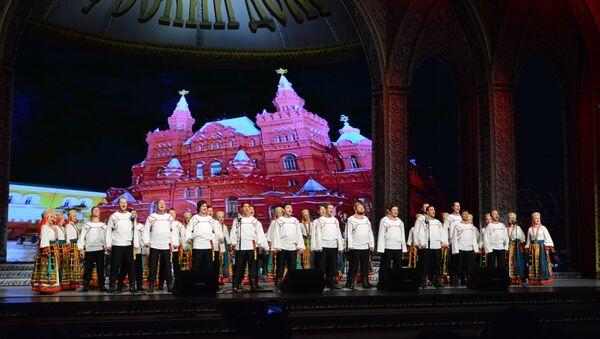 Briljantno izvođenje ruskih umetnika oduševilo je publiku u Beogradu. - Sputnik Srbija