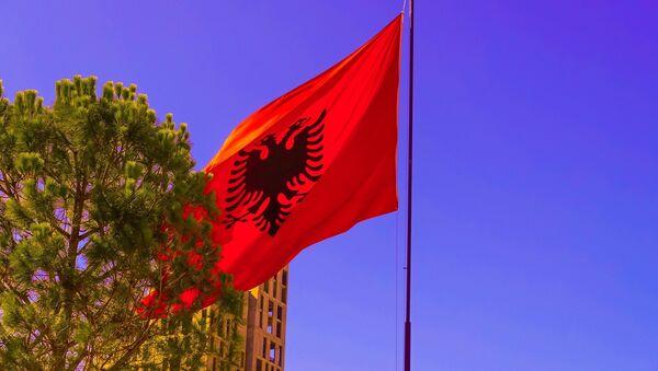 Албанска застава - Sputnik Србија
