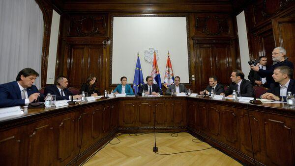 Sednica Saveta za nacionalnu bezbednost - Sputnik Srbija