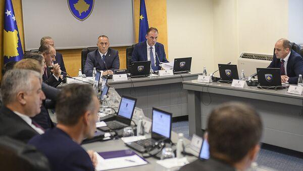 Састанак тзв. владе Косова на којој је донета одлука о повећању царинских дажбина за српску робу - Sputnik Србија