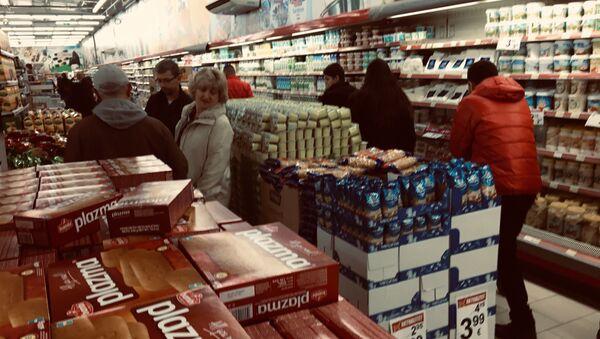 Roba široke potrošnje iz Srbije se i dalje nalazi u prodaji na KiM - Sputnik Srbija