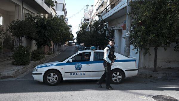 Грчка полиција - Sputnik Србија